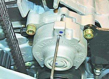 Как подтянуть ремень генератора на чери амулет купить автоэмаль амулет металлик