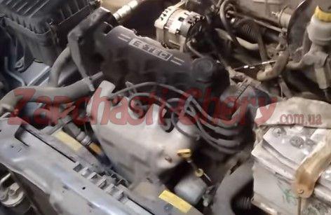 Двигатель Дэу Ланос